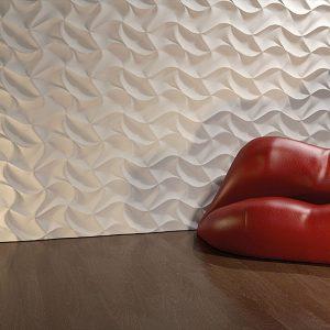 origami 3d gypsum panel
