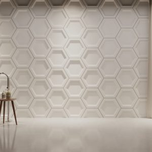 Slice solid gypsum 3D tiles
