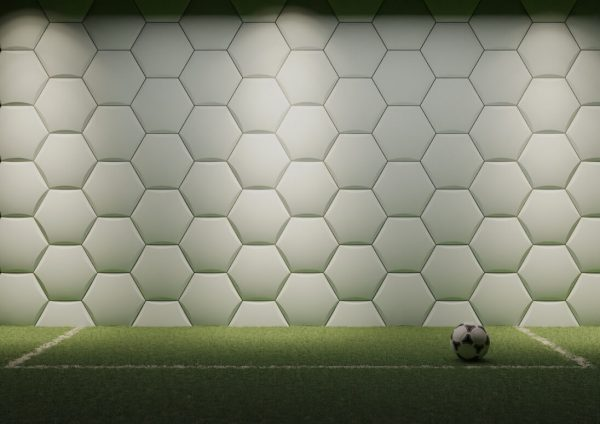 football solid gypsum 3D tiles