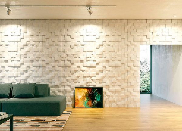 quadrat gypsum 3D tiles