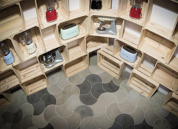 serpente concrete 3D tiles