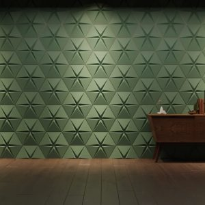 stars point solid gypsum 3D tiles