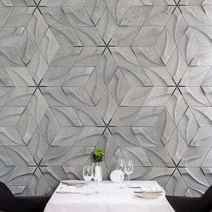 tzara concrete 3D tiles