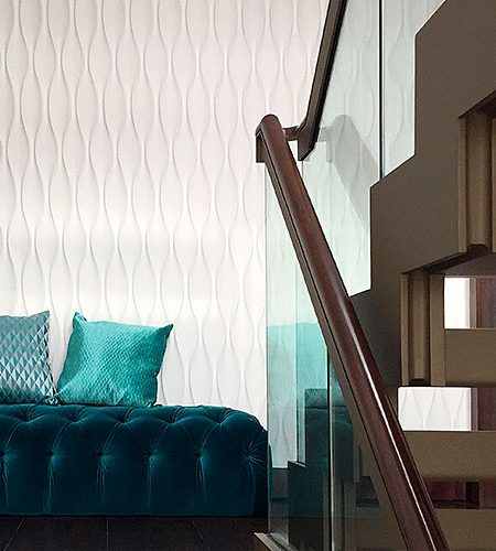 glamoure interior style, hourglass design, modern wall coverings, penthouse design, seamless surface, Pimlico, Victoria Penthause