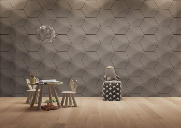wheels solid gypsum 3D tiles