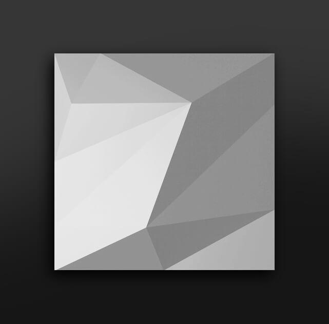 quartz gypsum 3d tiles