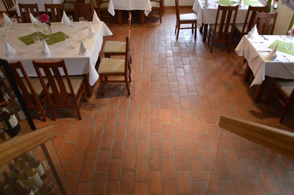 Clay brick floor tiles I