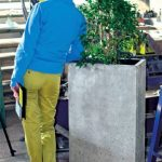 Concrete flower pot I