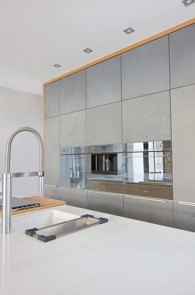 Concrete kitchen fronts I