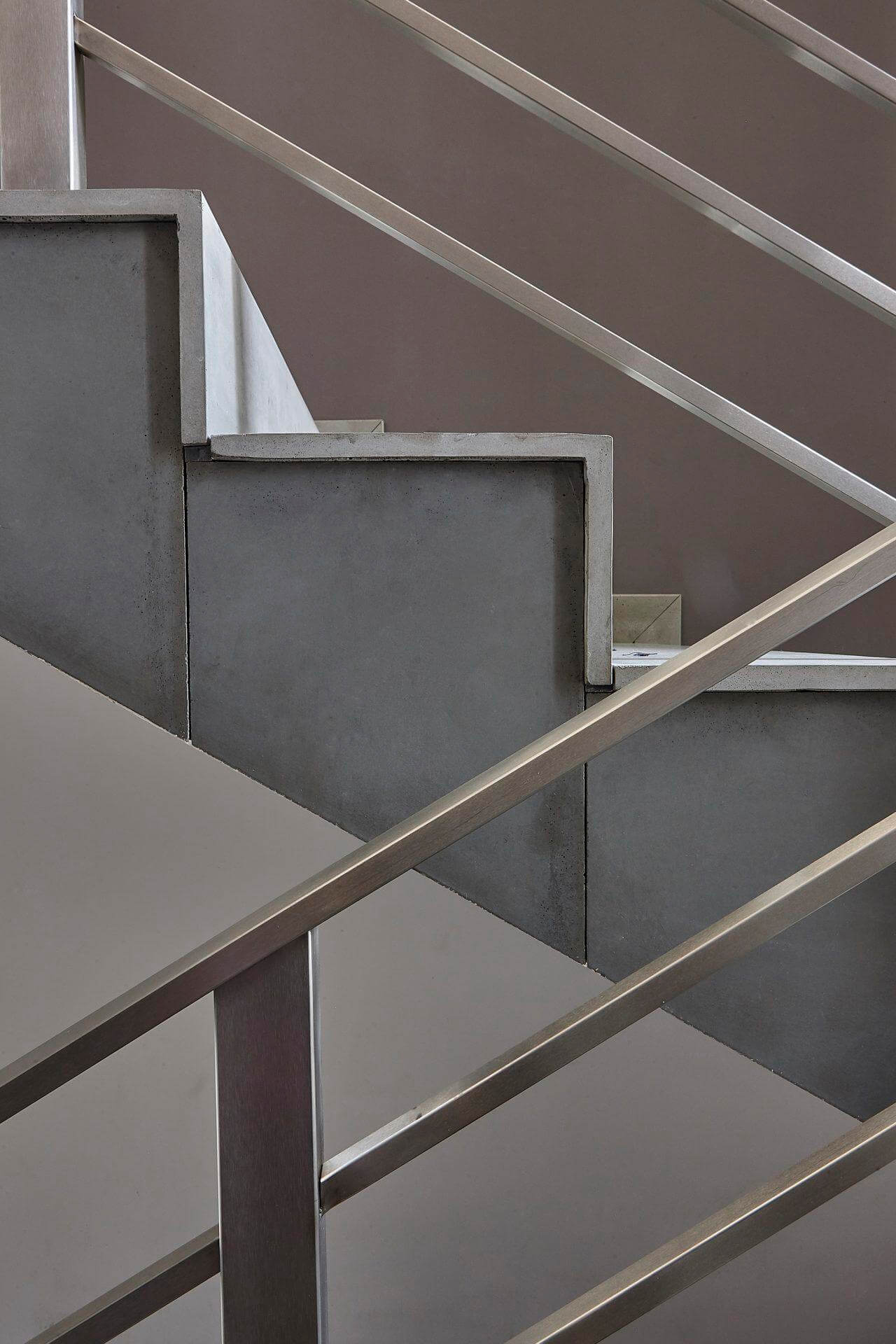 Concrete lining stairs I