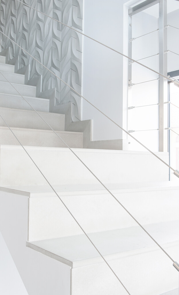Concrete lining stairs II