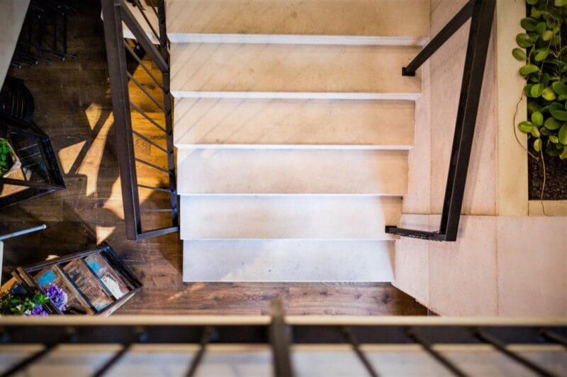 Concrete stairs III