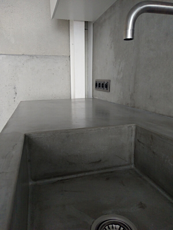 Concrete worktop II
