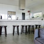 Kitchen island - concrete tiles I
