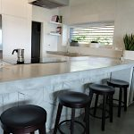 Kitchen island - concrete tiles II