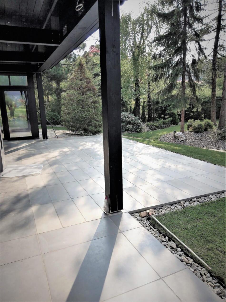 Outside concrete slabs II