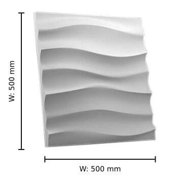 Dune gypsum 3D tile