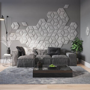Diamante concrete 3D tiles