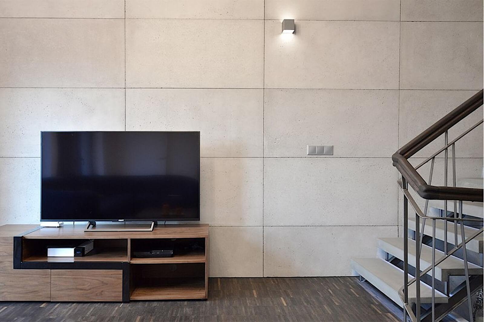 minimal concrete 3D tiles