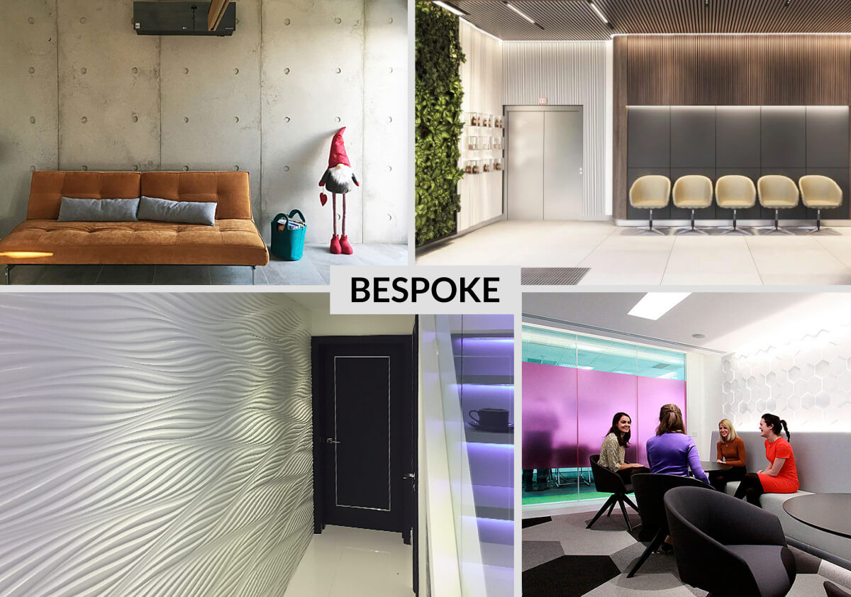 BESPOKE. Dear architects, 3D Art Factory has the knowledge, expertise and experience to provide clients with a professional tailored service where you design for us to make.